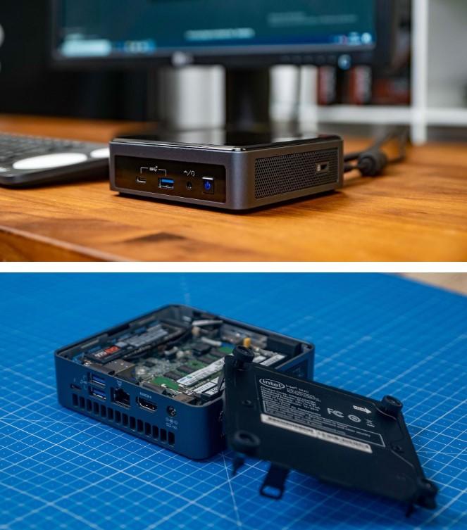 Випущений потужний міні-комп'ютер Intel NUC Frost Canyon, який поміщається в кишеню