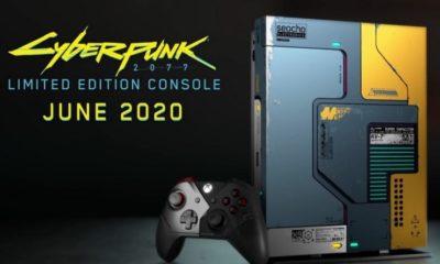 Microsoft випустить спеціальну версію Xbox One X в стилістиці Cyberpunk 2077