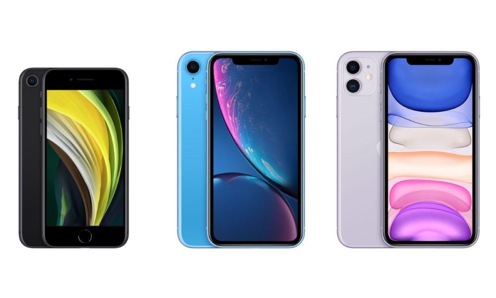 iPhone SE 2020 у порівнянні з iPhone Xr та iPhone 11 - ТехноФан