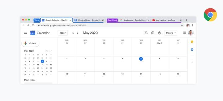 У Google Chrome 82 з'явиться функція групування вкладок