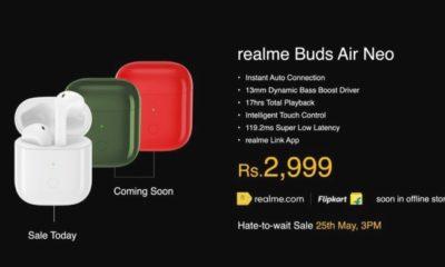 Realme анонсувала бездротові навушники Buds Q і Buds Air Neo і два павербанка