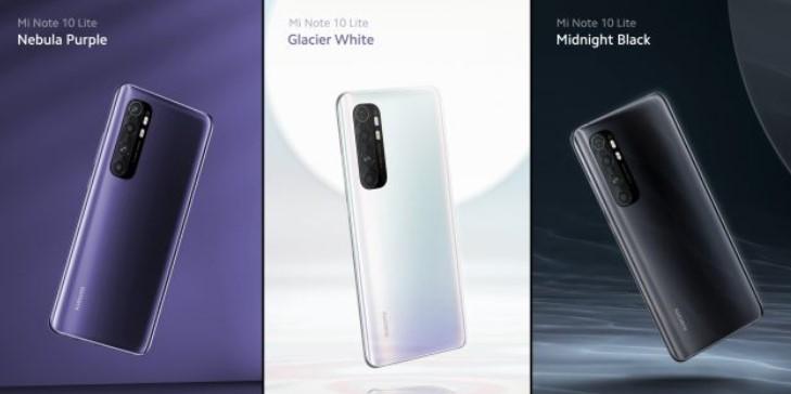 Xiaomi показала Mi Note 10 Lite - бюджетний 5G-смартфон, який працює 2 дня без підзарядки