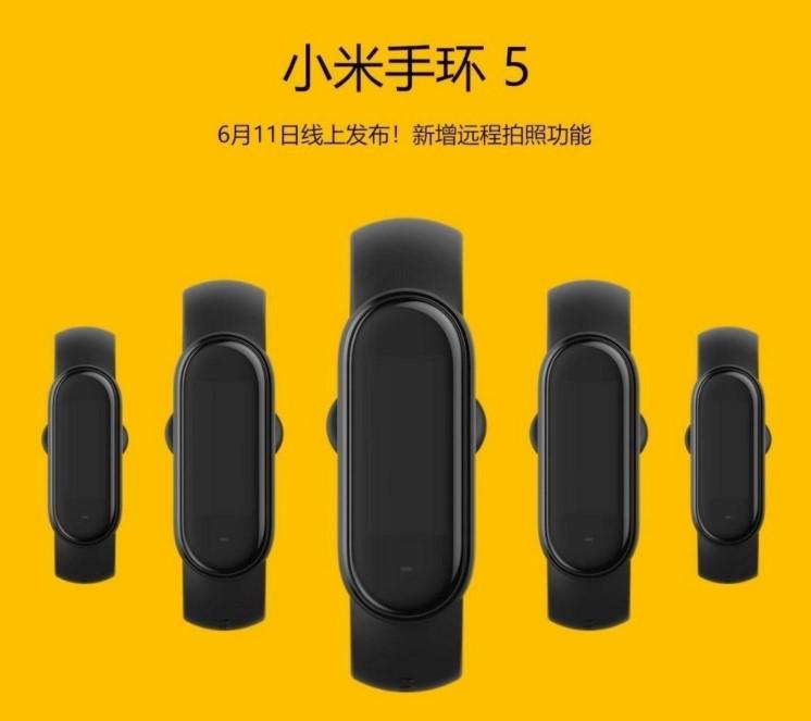 Офіційно: Xiaomi призначила анонс нового фітнес-браслета Xiaomi Mi Band 5