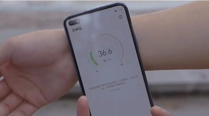 Many expected smartphones will measure body temperature.