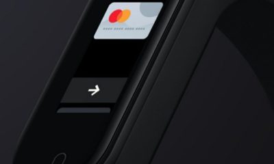 Xiaomi запускає в Україні оновлений фітнес браслет Xiaomi Mi Band 4 c платежами картами Mastercard