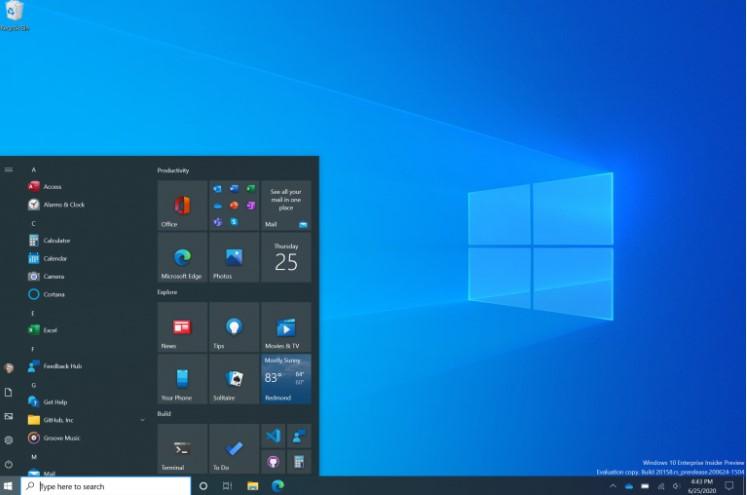 Microsoft представила новий дизайн Windows 10 - з напівпрозорим «Пуском», новими іконками