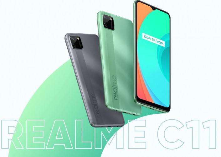 Анонс Realme C11 - миттєвий відповідь на Xiaomi Redmi 9C