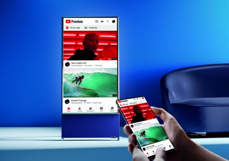 Вертикальний 4K-телевізор Samsung The Sero почав продаватися в Україні за 39 999 грн.