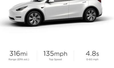 Tesla Model Y відчутно впала в ціні