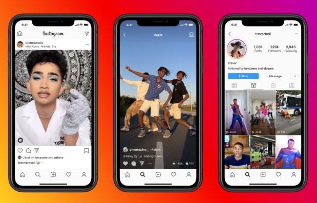 Instagram офіційно запустив клон TikTok-а