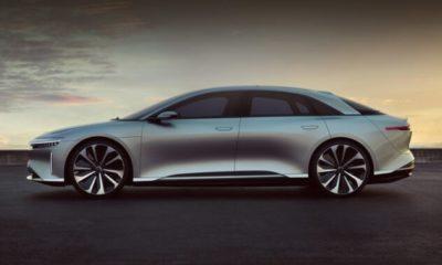 Швидше Tesla: електромобіль Lucid Air отримає найшвидшу зарядку