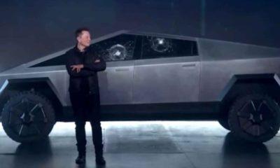 Tesla Cybertruck виявився ще й куленепробивним