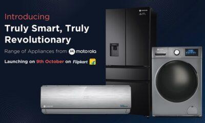 Motorola анонсувала холодильник, пральну машину і кондиціонер