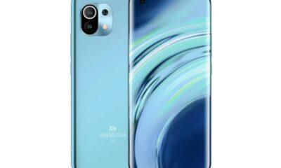 Xiaomi Mi11 отримає «екран-водоспад» з врізаної камерою