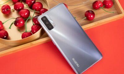 Представлений Realme V15: 5G з AMOLED дисплеєм і швидкою зарядкою на 50 Вт