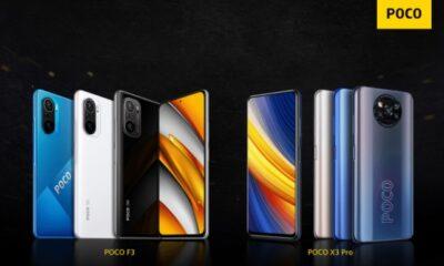 Смартфони Poco F3 і Poco X3 Pro офіційно виходять в Україні