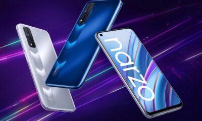 Realme Narzo 30 запропонував чотири камери, ємний акумулятор і 90-Гц екран. В цьому році ми вже бачили Realme Narzo 30A і Narzo 30 Pro, а сьогодні до них приєднався третій представник сімейства - Narzo 30. Новинка отримала чіп від MediaTek, ємну батарею і досить пам'яті.