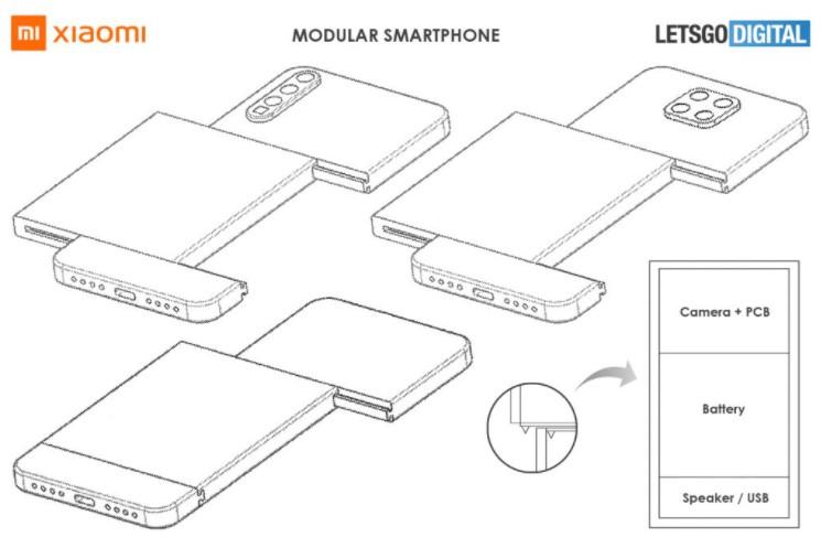 Xiaomi працює над смартфоном модульної конструкції