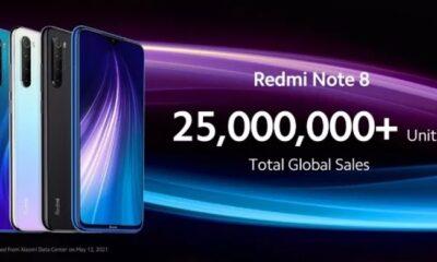 Офіційно представлений смартфон Xiaomi Redmi Note 8 2021 року