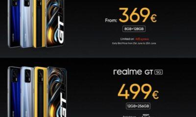 Неймовірні ціни Realme GT зі Snapdragon 888 вражають