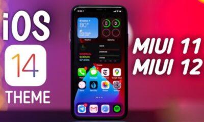 Нова тема для смартфонів Xiaomi на MIUI 12, яка виконана в стилі iOS