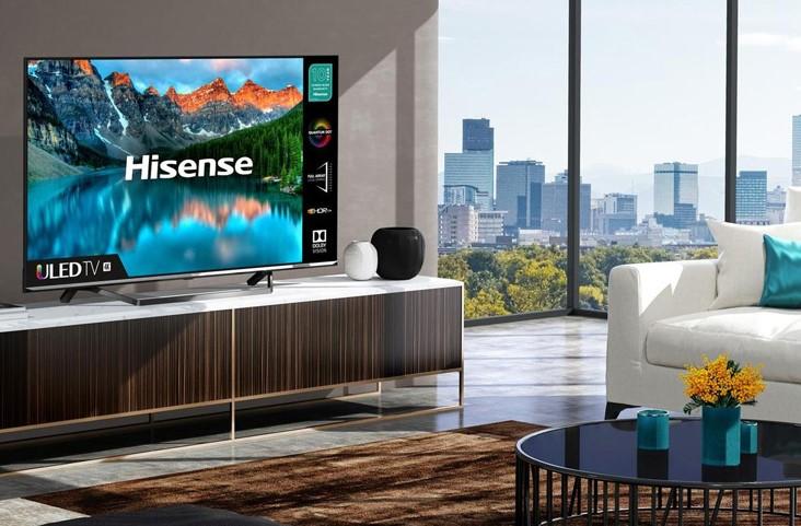 Hisense офіційно представила нові телевізори 4K: ціна вражає