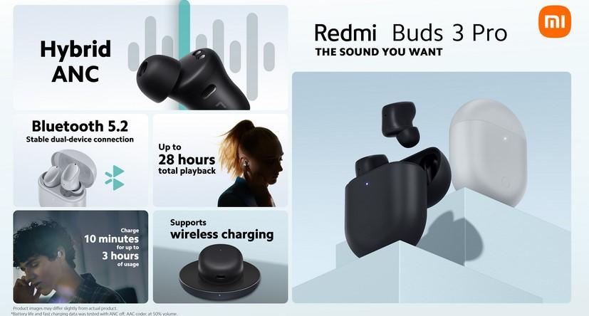 Redmi Buds 3 Pro з активним шумозаглушенням впали в ціні до рекодного низького рівня