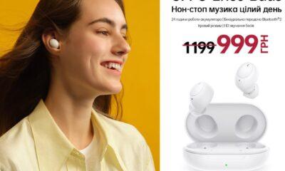 OPPO презентує TWS навушники Enco Buds в Україні за 999 гривень