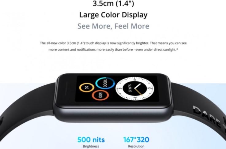 Realme представила новий фітнес-браслет Band 2 зі збільшеним дисплеєм і цінником в 1000 гривень