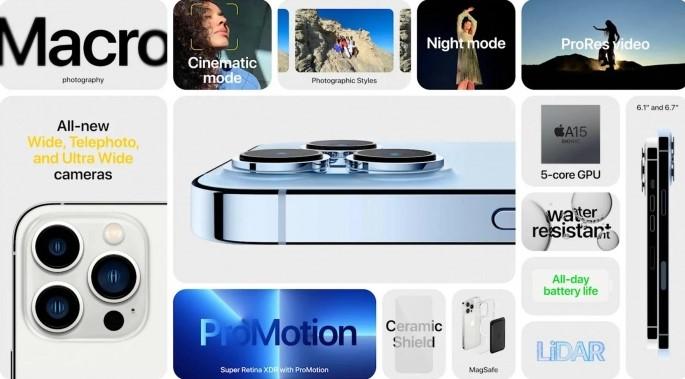 iPhone 13 Pro і iPhone 13 Pro Max: найкраща камера за всю історію Apple з вражаючою ціною