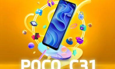 Смартфон Xiaomi Poco C31 представлений офіційно за ціною 3183 гривень