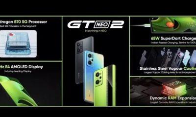 Офіційно представлена глобальна версія Realme GT Neo 2 за дивовижною ціною