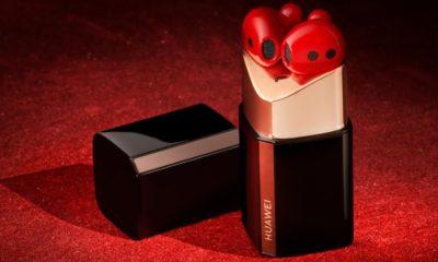 Huawei представила навушники FreeBuds Lipstick: приголомшливий зовнішній вигляд і чудова якість звучання